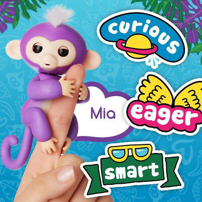 UGI New Finger Monkey Electronic Pet Baby Children Kids Auction Toy XMAS Gift