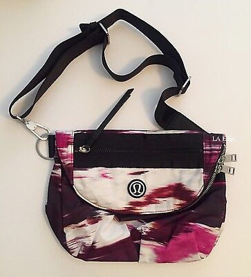 ded4bfd7a9e LULULEMON FESTIVAL BAG Pigment Wind Berry Rumble Crossbody Purse Fanny Pack  New