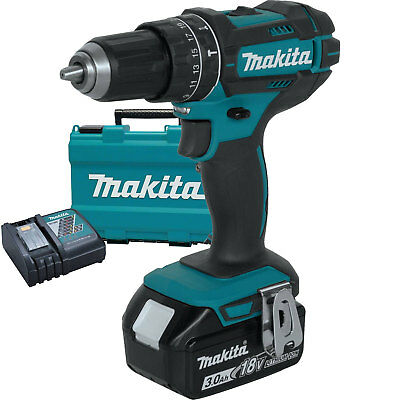 "Makita XPH102 18V LXT Li-Ion 1/2"" Hammer Driver-Drill Kit replaces XPH012 New"