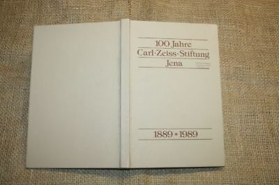 100 Jahre Carl-Zeiss Stiftung, Jena, Zeiss, Abbe, Optik, DDR 1989