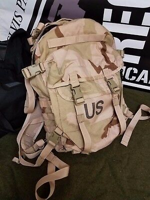 MOLLE II Modular Lightweight Load Carrier Assault Pack Desert Camo