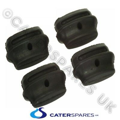 4 Pack Hobart 886609 Black Rubber Wash Rinse Arm End Bung Plugs For Dishwasher