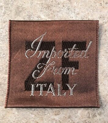 Zeiler Fabrics Inc Vintage Clothes Tags Label   Imported From Italy