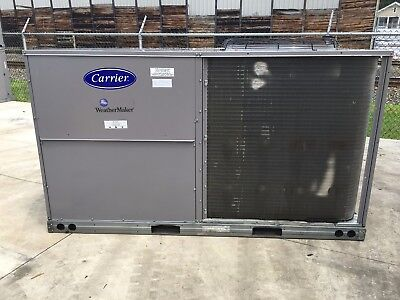 Carrier 10 Ton Heat Pump Rooftop Unit - New Old Stock - Excellent Cond - 208-3