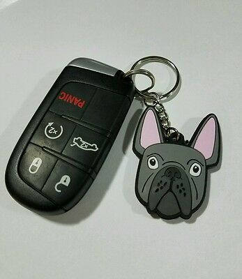 Frenchie Keychain (Double sided)