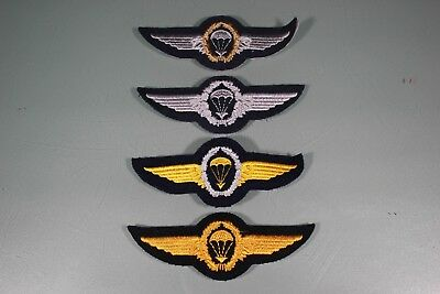 Post WW2 German FJ Fallschirmjager Kriegsmarine Navy Lot of 4 Wings Patch F46