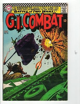 G.I. Combat #121 VG+ 4.5 Cream to Off White Pages 1st Sgt Rock's Father