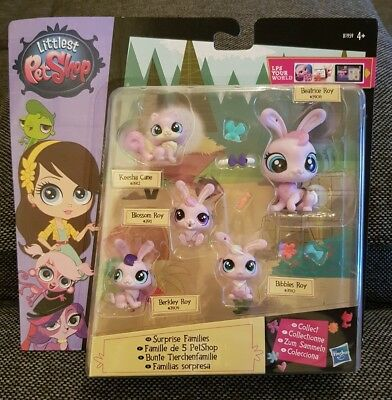 Littlest Pet Shop - Bunte Tierchenfamilie