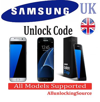 Samsung Galaxy S7 Edge S6 Edge Plus S5 S4 Note Unlock Code Three O2 Ee Vodafone