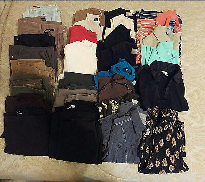 Womens Lot Clothing For Resale Petites, Smalls sz 6-8 Eddie Bauer, Claiborne +