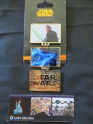 Disney Parks Return of the Jedi LE 3900 Pin Hinged Star Wars Weekend 2015