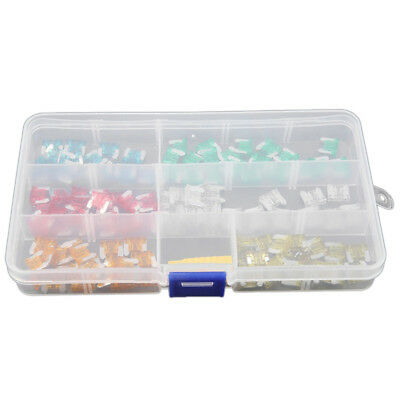 5X(120 pcs Low Profile Mini Size Blade Fuse Assortment Set Auto Car Truck Fuses)