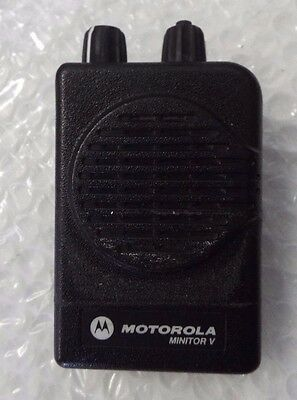 Motorola Minitor V A04Km9723Bcc Single Channel Radio @1