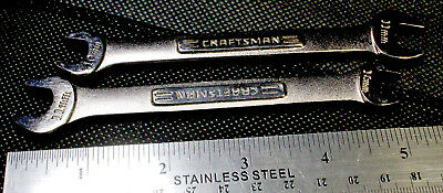 *LOT OF 2* CRAFTSMAN open end wrench 10mm X 11mm, NSN 5120-01-335-1181; LTAM1011