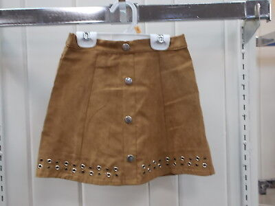 Girls Flapdoodles Size 4, 5, 6, & 6X $29.00 Faux Suede Skirt