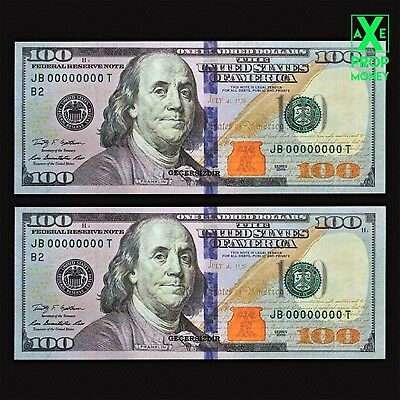 200 Pcs Prop Invalid Realistic 100's Money For Filming Worth $20,000