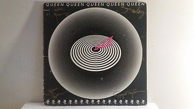 Queen Signed LP The Jazz 1977 Freddie Mercury Brian May