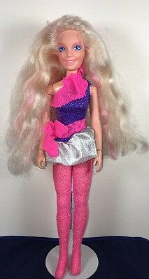 Vintage Rock N Curl Jem / Jerrica Doll Jem and the Holograms Hasbro 1986