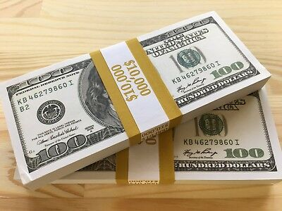 100 Pcs High Quality Kb Series Invalid 100's Best Prop Money In Market $10.000