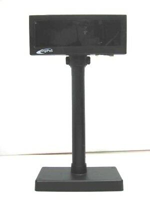 DigiPoS WD-202 Customer Pole Display - Black