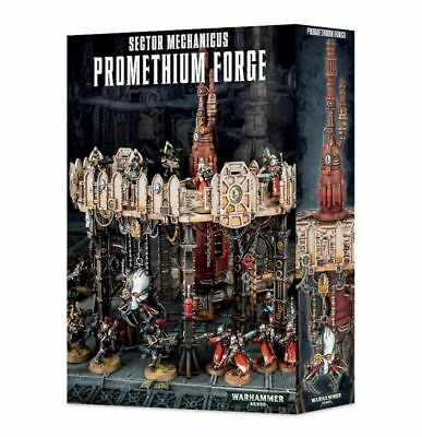 Sector Mechanicus Promethium Forge Games Workshop Terrain Shadow War Terrain