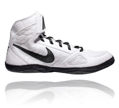 Nike Takedown Wrestling Shoes - White/Black