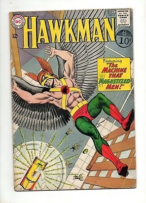 Hawkman #4 1ST APPEARANCE of ZATANNA! VG+ 4.5 1964 DC SUPER-KEY! Justice League