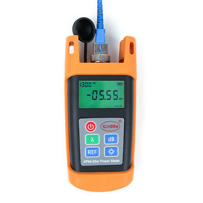 FTTH Fiber Optical Cable Test Tool Fiber Optic Power Meter KPM-25M -70~+10 dBm