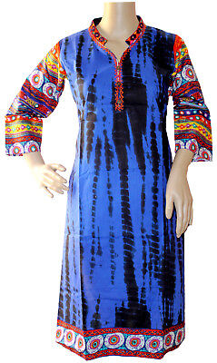 Ethinic dress Top beautiful special clothes for diwali kurti Tunic Blue