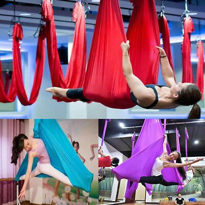 Anti-gravity Inversion Yoga Therapy Aerial Swing Hammock Large Bearing Sporting