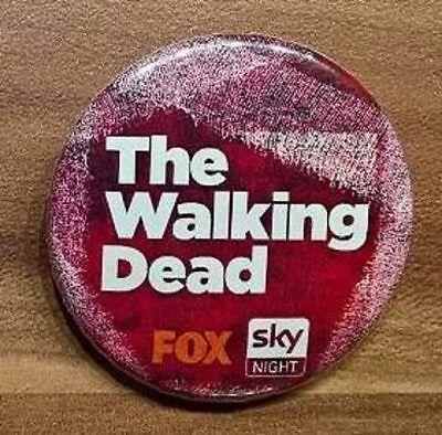 The Walking Dead Button/Pin aus dem Jahr 2015 - Motiv The Walking Dead