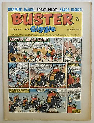 BUSTER and GIGGLE Comic - 29th March 1969