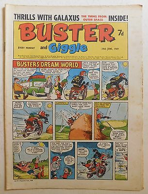 BUSTER and GIGGLE Comic - 14th June 1969