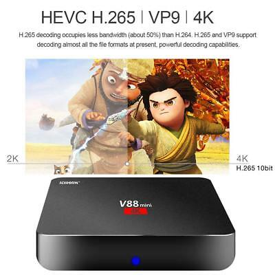 V88 Mini Android 6.0 RK3229 Quad Core 4K 1080P HD TV Box WIFI Smart Media Player