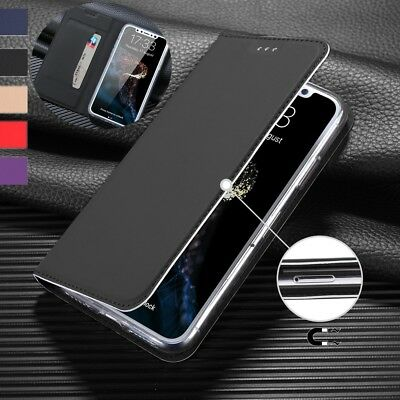 Luxury Magnetic PU Leather +TPU Wallet Flip Cover Skin Case For iPhone X 8 7 6S