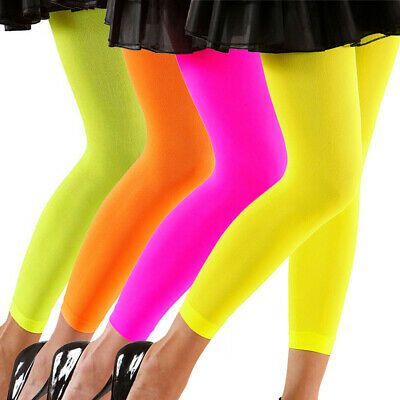 Damen Strumpfhosen 80er Jahre Leggins Stretchhose Leggings Legging Aerobic Mode