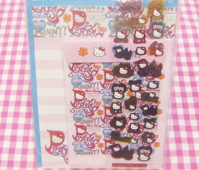 Sanrio Hello Kitty PIX PRESS Letter Set / Made in Japan 2002 Stationery