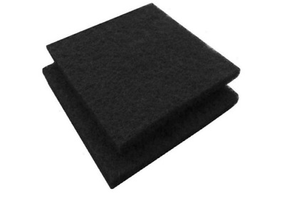 """Paint Spray Booth Activated Carbon Adsorption Filters 20x20x1/2"""" 5pcs/Case"""
