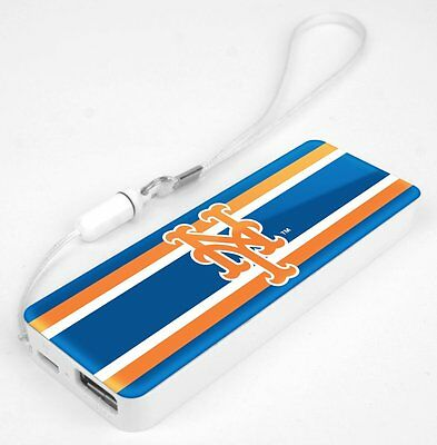 Mizco MLB New York Mets 3K Slim Power Bank Powerbar