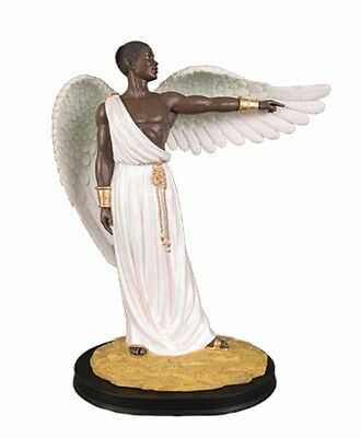 Guidance: African American Angel Figurine NEW (63006) 12 Inches