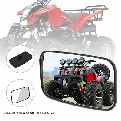 Center Wide Large Adjustable Rear View Clear Mirror for Universal UTV off Road V