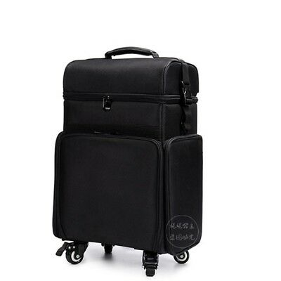 Professional Canvas Nylon Beauty Trolley Case 5 Styles Make Up Jewellry Nail Art
