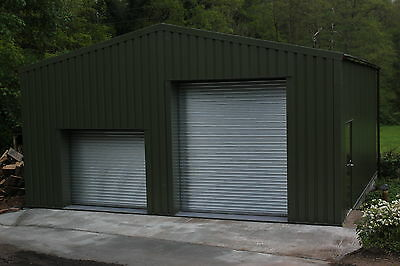 Omega Steel Buildings| Motor Home Storage | 8m x 8m | Workshop | No13