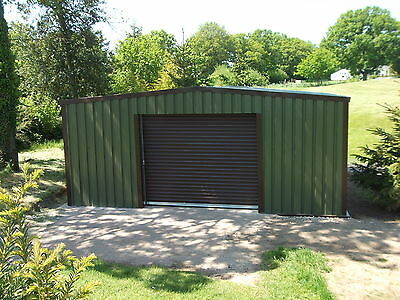 Steel Framed Building | 6m x 6m | Rain System | Garage | Workshop | Storage No11