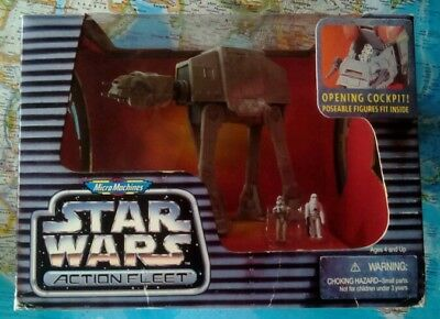 Star Wars Action Fleet Imperial AT-AT m. Driver&Stormtrooper Neu OVP Ungeöffnet