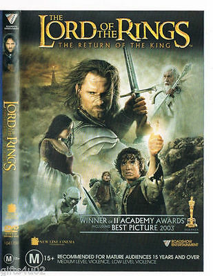 The Lord Of The Rings: The Return Of The King DVD TOP 250 2-DISCS R4