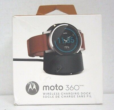 Motorola Wireless Charging Dock for Motorola Moto 360 2nd Gen Smartwatch 89818N