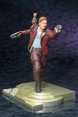 Star Lord with Groot - Guardians of the Galaxy ARTFX Statue 32 cm
