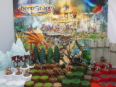 Heroscape Wave 2 Utgar's Rage - Knights, 4th Mass., Drones, Minions, Krug & More