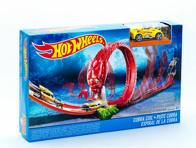 Mattel Hot Wheels DWK95 Mittleres Monster Trackset Cobra-Looping NEU / OVP